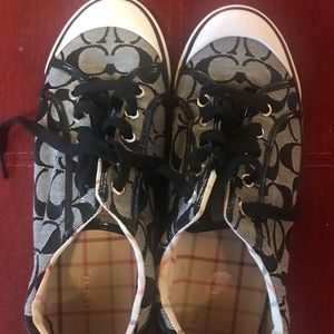 Genuine coach sneakers 10m cutest shoes!